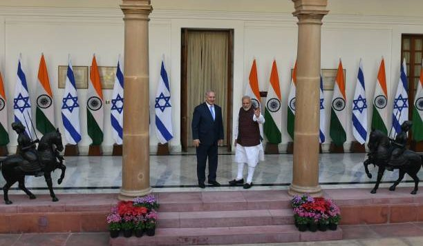 INDIA-ISRAEL-POLITICS-DIPLOMACY