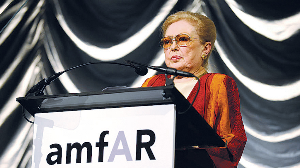 Mathilde Krim, Pioneering AIDS Researcher Who Fought Stigma, Dies At 91