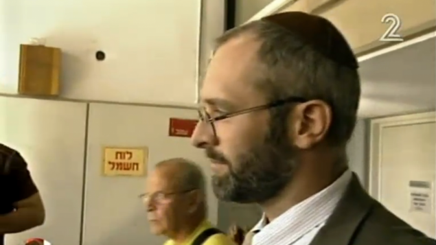 Yehoshua Elitzur (screen capture: Channel 2 via The Times of Israel )