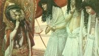 Tissot_The_Egyptians_Admire_Sarai's_Beauty