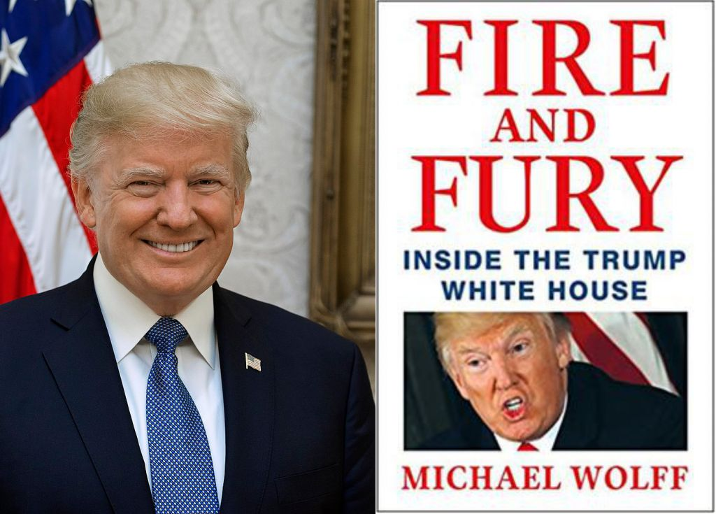 Author, publisher won't back down on Trump book