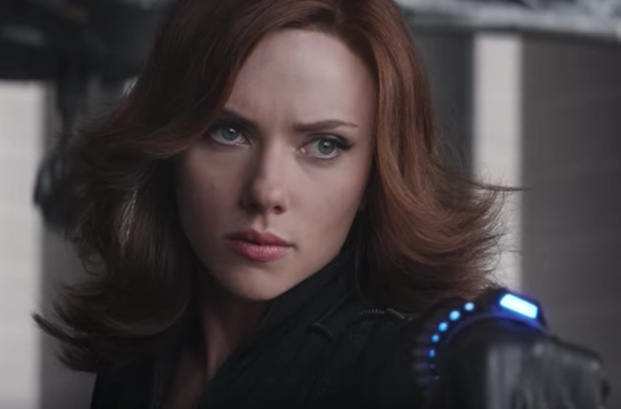 Scarlett Johansson to Collaborate on Black Widow Movie Script?