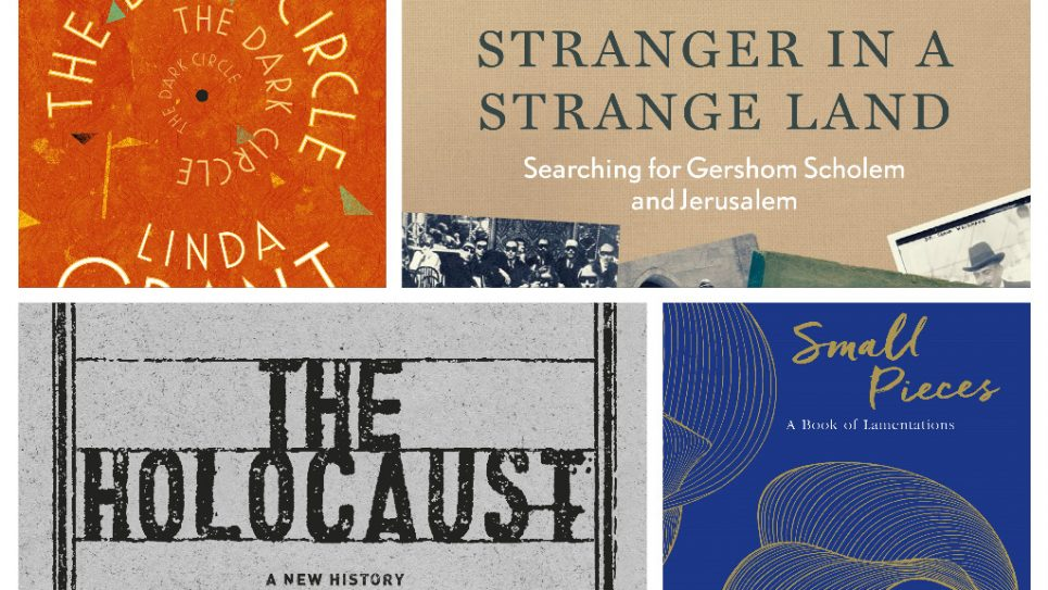 The Dark Circle paperback, The stranger in a Strange Land, The Holocaust, and  Small Piece