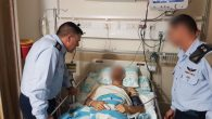 The Commander of the Israel Air Force, Major General Amikam Norkin visited the pilot who was severely wounded on Saturday.   Credit: @IDFSpokesperson on Twitter
