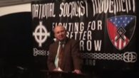 Art Jones speaking at a National Socialist Movement event