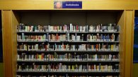 Audio books in a library