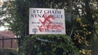 Graffiti daubed at Etz Chaim synagogue including a swastika and 'kikes'