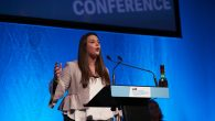 Izzy Lenga speaking at NUS Conference 2017