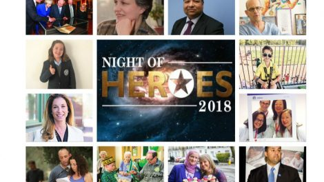 Some of the stars who have been nominated for awards at our Night Of Heroes!