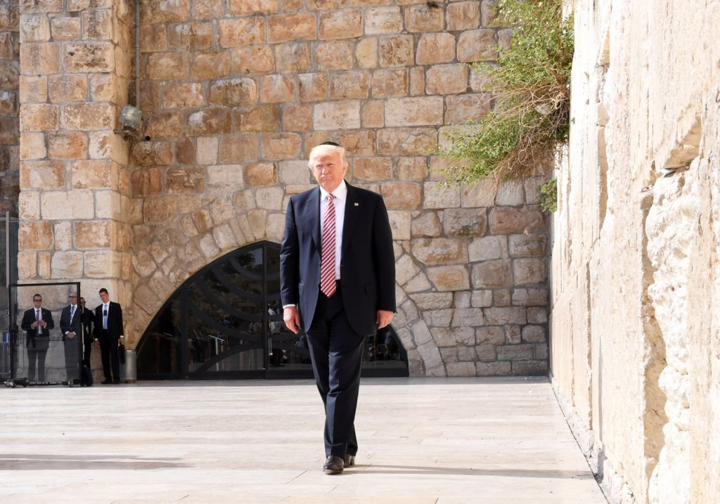 Donald Trump immortalized on Jewish 'Temple Coin' in Israel