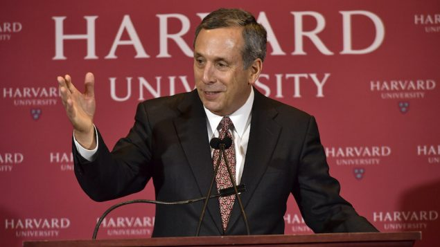 Harvard's Presidential Search Committee Holds News Conference