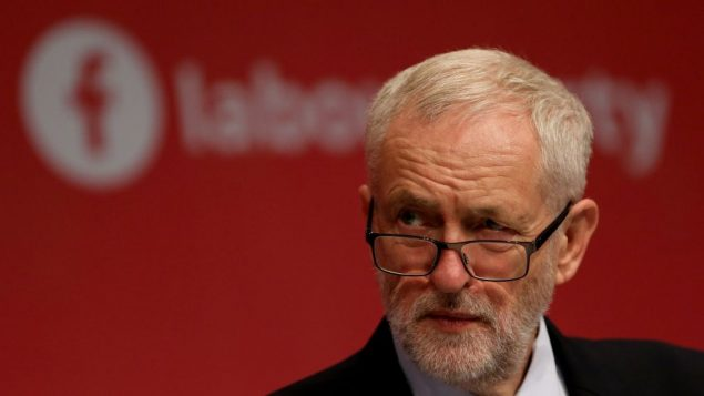 Labour Party leader Jeremy Corbyn during their annual conference in Brighton.   Photo credit: Gareth Fuller/PA Wire