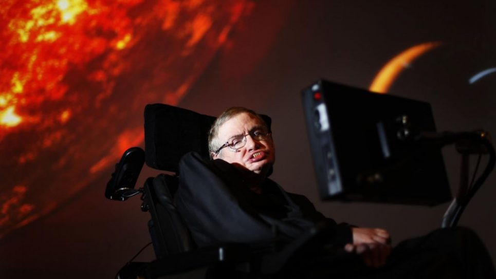 Professor Stephen Hawking has died aged 76   Photo credit: David Parry/PA Wire