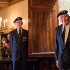 Veterans attended.  Photo credit: Sgt Rupert Frere/MOD Crown Copyright.