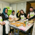 JW3 Cooking Session 2 with young professionals cooking for Sufra NW - photo by Yakir Zur