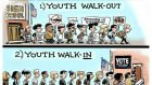 Steve Sack walkout cartoon