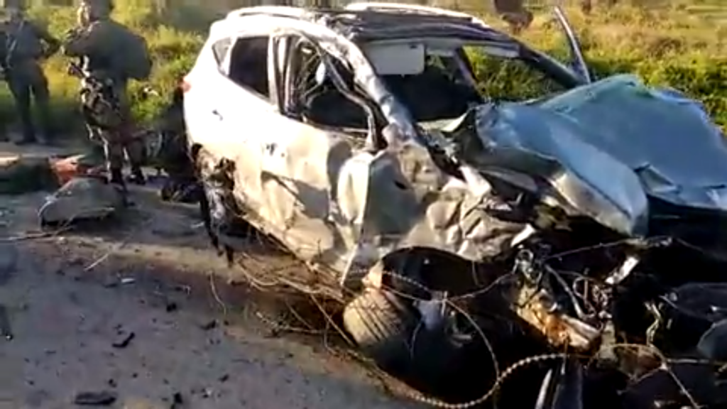 Two killed and two injured in suspected West Bank car-ramming