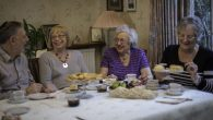 Guests enjoying a Jewish Care's Supportive Communities Tea Party