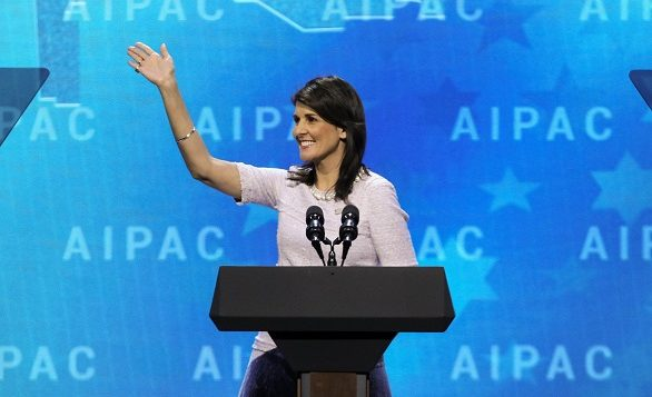 IS-Dori aipac nikki haley