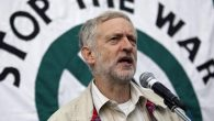 Jeremy Corbyn at a Stop The War demonstration in 2012.