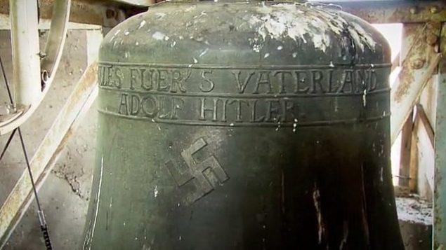 Nazi era swastika removed from church bell in german town for Doorbell in german