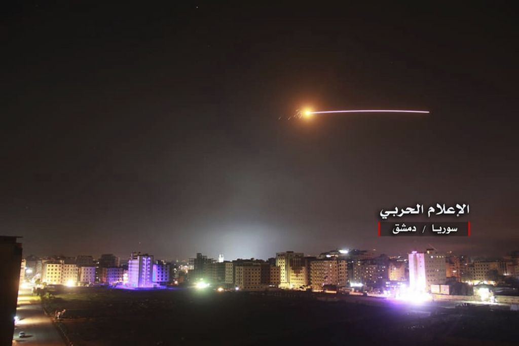 Iran officially condemns Israeli strikes inside Syria