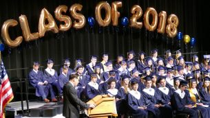 ED-Weber Ed Harwitz and Class of 2018