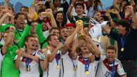 Germany wins it's 4th FIFA World Cup, after beating Argentina 1-0 in 2014