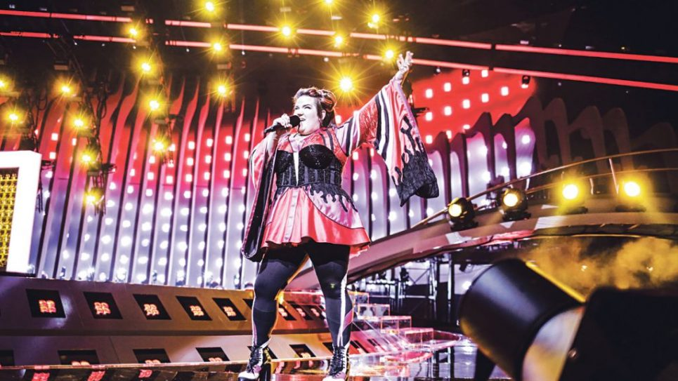 Netta sings her heart out