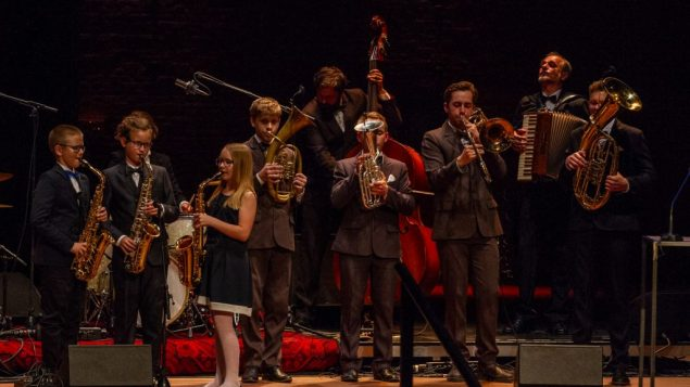 Perfromance by the Klezmer Band, part of laureate Borderland's Cultural Centre
