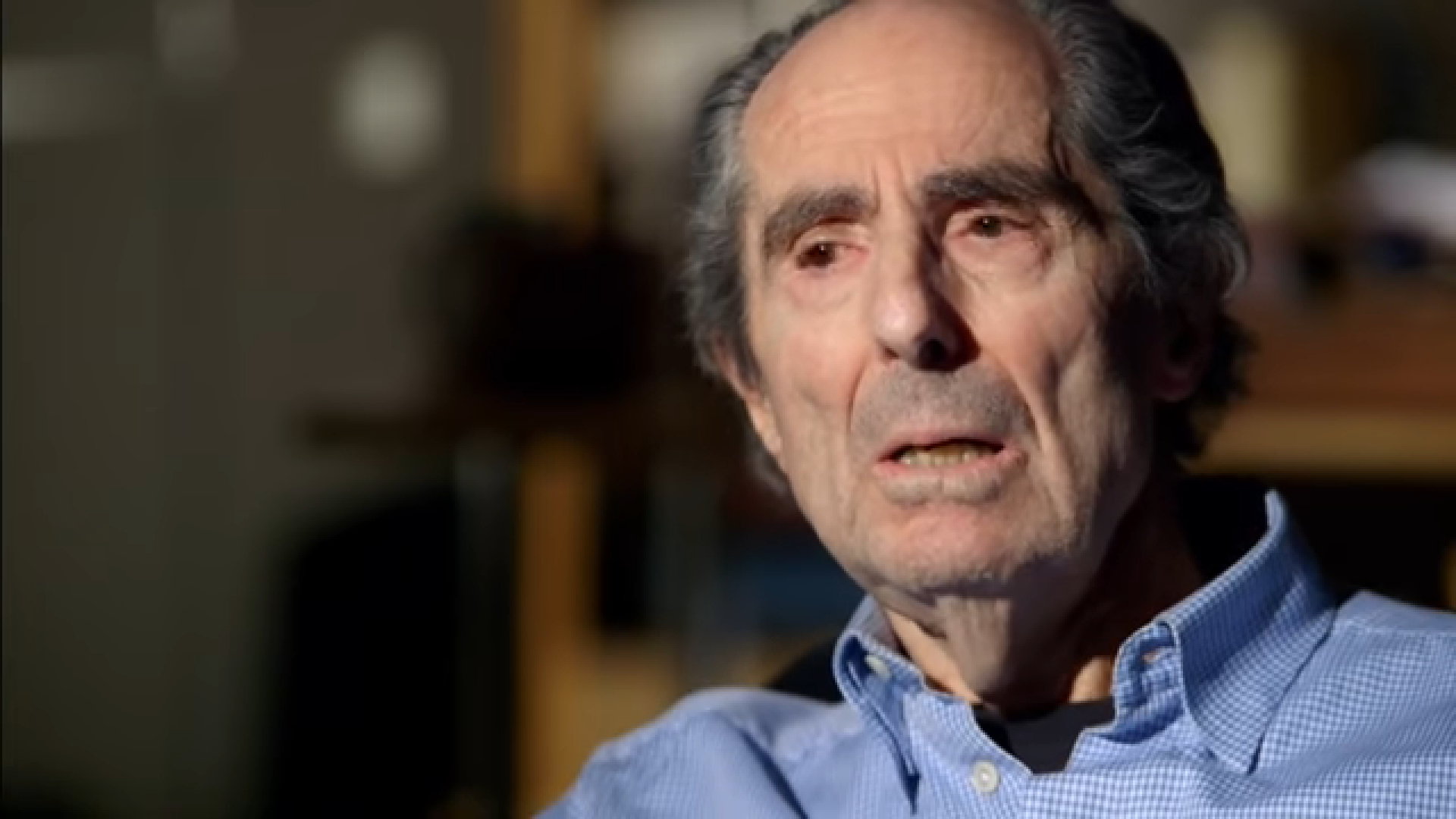 Philip Roth interview: 'I don't want to be caged in by reality'