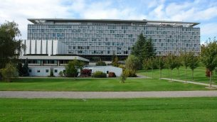 WHO Headquarters in Geneva
