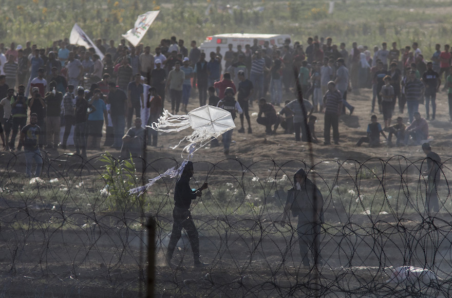 Demonstrations Along The Gaza  Israel Border After Naksa Day