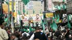 Hamas rally in Ramallah