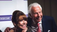 Kay Burley with Lord Levy