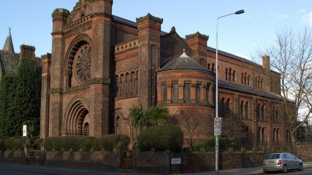 The Synagogue of the Liverpool Old Hebrew Congregation In Princes Road, Toxteth