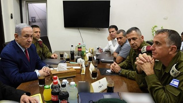 PM-and-DM-Netanyahu-at-the-Defense-Ministry-in-Tel-Aviv-e1568613959306-640x400