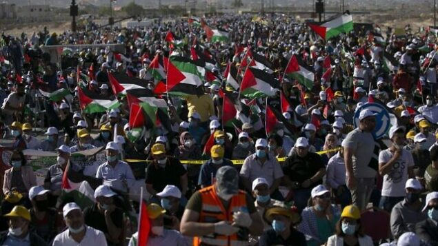 PALESTINIAN-ISRAEL-CONFLICT-PROTEST