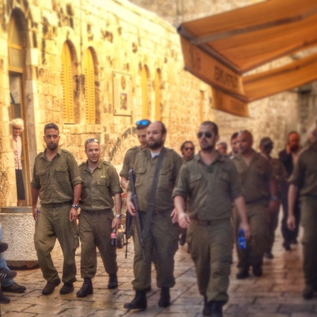 #IDF soldiers in the Old City