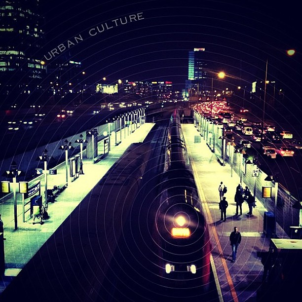 January 7, 2012 - #timesofisrael photo of the day: waiting for the train in #Telaviv. Photo by @dinalf
