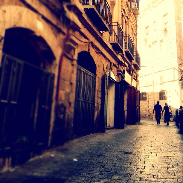 An alley in #Jerusalem