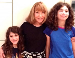 Julia Schiffer (L-R), Maxine Rock and Rachel Schiffer pooled their talents to create a children's book.