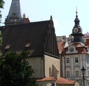 Jewish quarter of Prague is filled with aging synagogues, an anicent cemetery and one world-class legend. PHOTO / Herb Wollner
