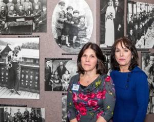 Karen Edlin (left), president of Hemshech, and Rhona Storch Albright, chair of this year's 48th annual Yom HaShoah commemoration. PHOTO / Gary Feinberg