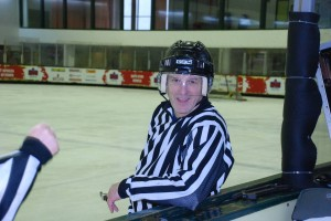 It's not the most common reason for visiting Israel, but Atlantan Steve Zinsenheim travels to the Jewish Homeland to referee hockey games. PHOTO / Courtesy Steve Zinsenheim