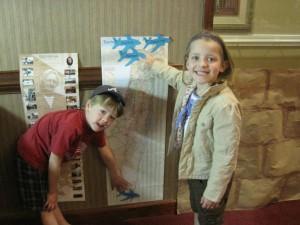 Kids in Hadassah's Training Wheels program recently took an imaginary trip to Israel. PHOTO / Hadassah