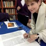 Suzi Saidman adds a letter to the Women's Torah Project.