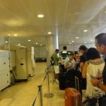 Security checks at Ben Gurion airport. PHOTO / JNS.org