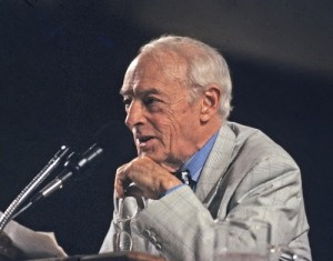 Saul Bellow is the only American Jewish author to have won the Nobel Prize in Literature; he also won three Pulitzer Prizes. PHOTO / jns.org