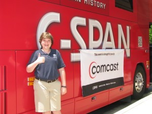Zack Cohen was awarded second place in C-SPAN's national studentCam contest.